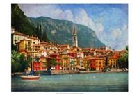 Como Village Fine Art Print