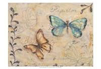 Fluttering Butterflies Fine Art Print