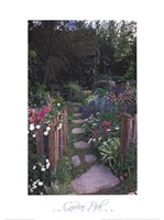 Garden Path - Chelsea Flower Show, London Fine Art Print