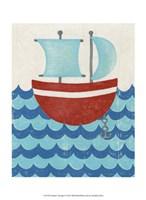Truman's Voyage I Fine Art Print