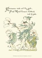 Shakespeare's Garden I (Anemone) Fine Art Print