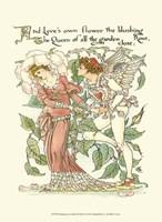 Shakespeare's Garden III (Rose) Fine Art Print