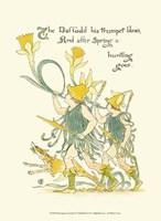 Shakespeare's Garden IV (Daffodil) Fine Art Print