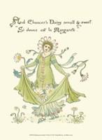 Shakespeare's Garden X (Daisy) Fine Art Print