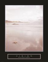 Vision - Foggy Beach Fine Art Print