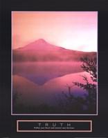 Truth - Misty Mountain Fine Art Print