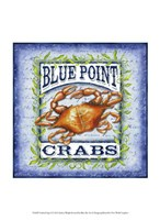 Seafood Sign I Fine Art Print