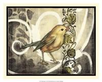 Bird Song I Framed Print
