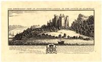 Vintage Oystermouth Castle Fine Art Print