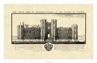 Vintage Wingfield Castle Fine Art Print