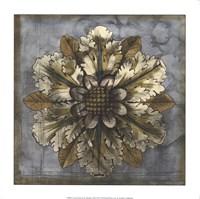Rosette & Damask I Fine Art Print