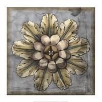 Rosette & Damask II Fine Art Print