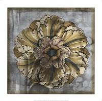 Rosette & Damask IV Fine Art Print