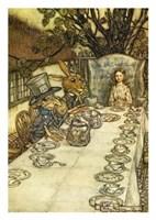The Mad Tea Party Fine Art Print
