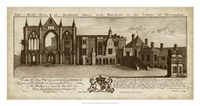 View of Newstead Abbey Fine Art Print