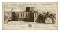 View of Brinkburn Priory Fine Art Print