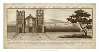 View of Eynsham Abbey Fine Art Print