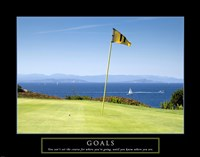 Goals-Golf Fine Art Print