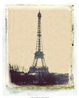 Eiffel View I Fine Art Print
