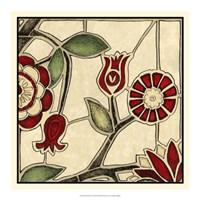 Floral Mosaic II Fine Art Print