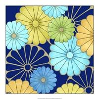 Floral Confetti III Framed Print