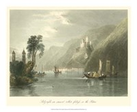 On the Rhine Fine Art Print