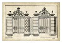 Neufforge Gate I Fine Art Print