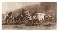 Horse Fair Fine Art Print