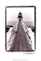 Marshall Point Light, Maine Fine Art Print