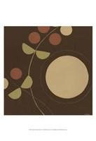 Small Autumn Orbit I Framed Print