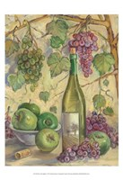Wine with Apples Framed Print