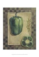Veggies & Herbs I Fine Art Print