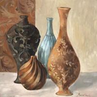 Spa Vases I Fine Art Print