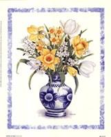 Daffodils and Tulips Fine Art Print