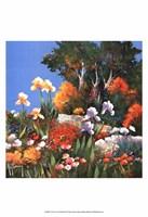 Un coin de jardin Fine Art Print