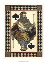 Harlequin Cards I Fine Art Print