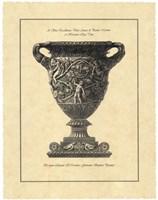 Vintage Harvest Urn II - Vaso Antico Fine Art Print