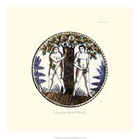 English Delft Dish Fine Art Print