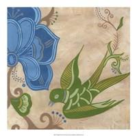 Songbird Fresco II Framed Print