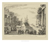Antique Harbor VI Fine Art Print