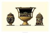 Urn Triad III Fine Art Print