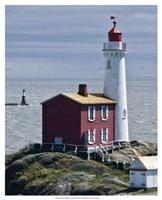 Fisgard Lighthouse Framed Print