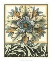 Panelled Rosette II Fine Art Print