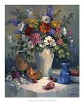 Fruit and Flowers Fine Art Print