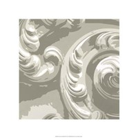 Decorative Relief II Fine Art Print