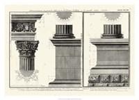 Cornice Tempio di Vesta Fine Art Print