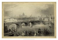 General View of London Fine Art Print