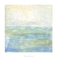 Tranquil Coast I Fine Art Print