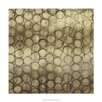 Circular Imprint II Framed Print