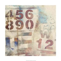 Numbered I Fine Art Print